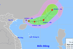 Xuất hiện áp thấp nhiệt đới trên Biển Đông, khả năng thành bão