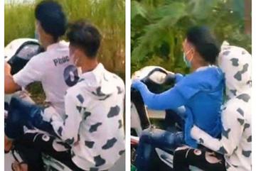 Phạt hơn 11 triệu với 6 thanh niên bốc đầu xe ở Hà Nội