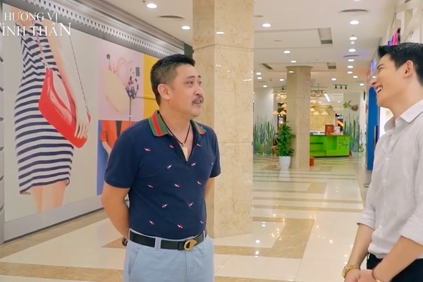 'Hương vị tình thân' tập 76, Nam chạm mặt mẹ con Long ở bệnh viện