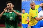 Trực tiếp Brazil vs Mexico: Paulinho đá cặp với Richarlison