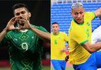 Trực tiếp Brazil vs Mexico: Bán kết bóng đá nam Olympic