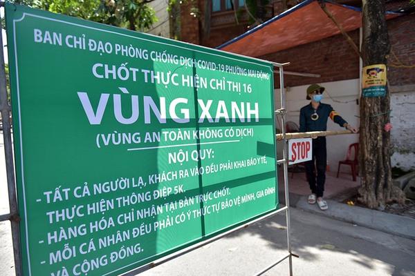 Chốt chặn nghiêm ngặt, bảo vệ những 'vùng xanh' đầu tiên của Thủ đô