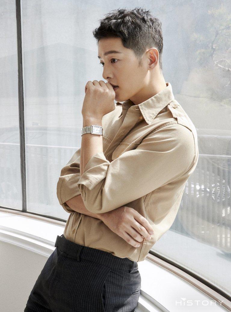 Song Joong Ki tiết lộ lý do chọn pilates để giữ dáng cực phẩm