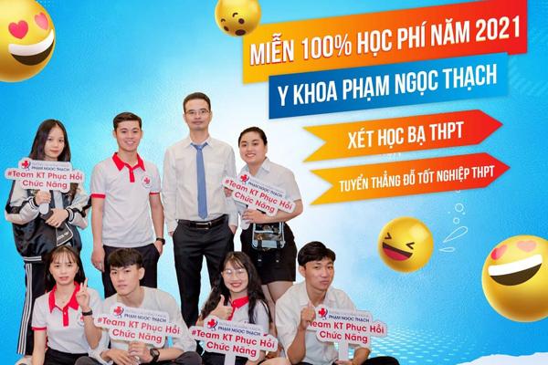 Trường CĐ Y khoa Phạm Ngọc Thạch miễn 100% học phí 2021 khi nhập học trước 25/8