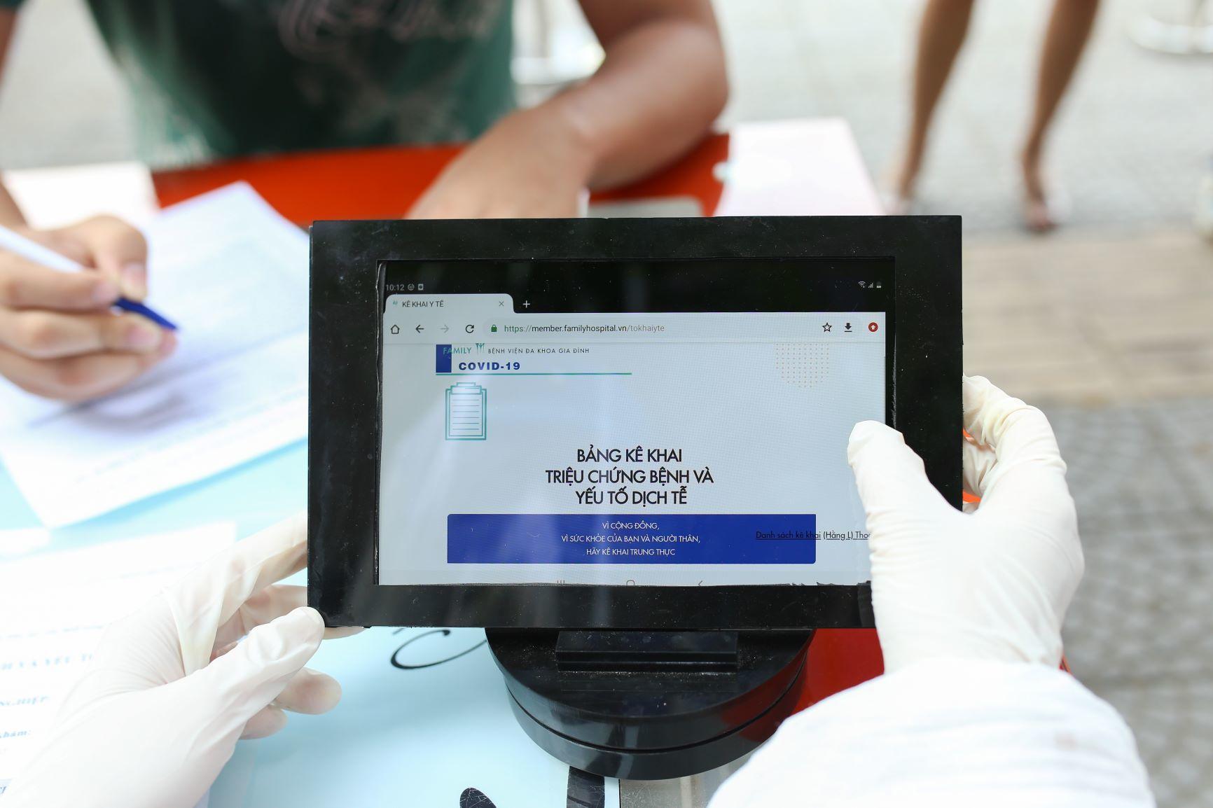 Quảng Nam tiếp tục triển khai, quản lý khai báo y tế điện tử