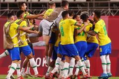 Thắng luân lưu, Brazil vào chung kết bóng đá nam Olympic