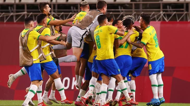 Thắng luân lưu, Brazil vào chung kết bóng đá nam Olympic - bơi
