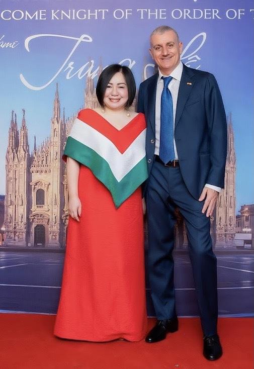 Trang Lê trở thành đại sứ ẩm thực Italia tại Việt Nam