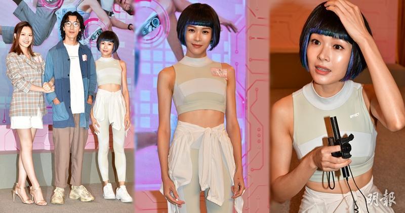 Thị hậu TVB Lý Giai Tâm áp lực khi lần đầu đóng vai rô-bốt