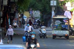 Bên trong khu phong toả phường Chương Dương - Hà Nội