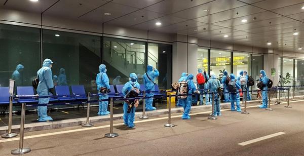 Fully vaccinated arrivals,cut quarantine