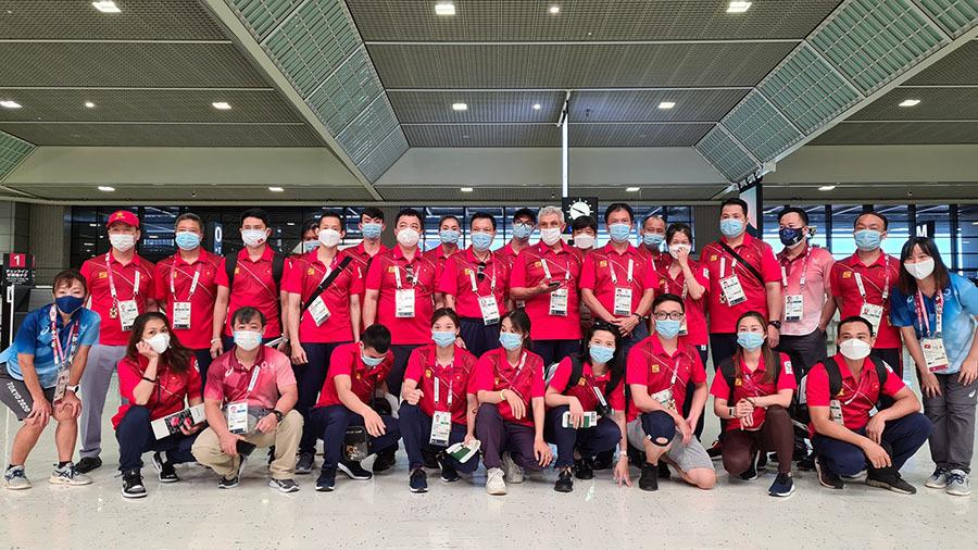 Đoàn TTVN về nước, Huy Hoàng trải lòng về Olympic