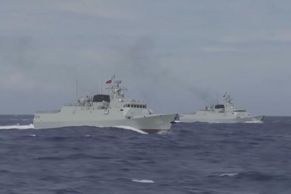 Trung Quốc tập trận rầm rộ ở Tây Thái Bình Dương