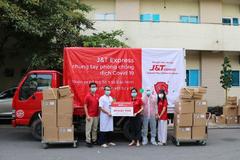 J&T Express gây quỹ hỗ trợ người lao động mùa dịch
