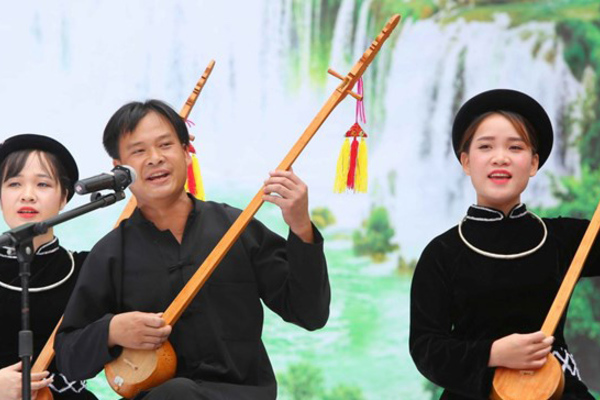 Hoãn Liên hoan hát Then, đàn Tính các dân tộc Tày-Nùng-Thái để phòng dịch