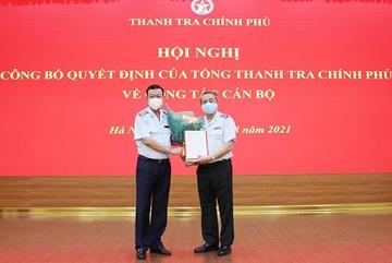Ông Nguyễn Mạnh Hường làm Chánh văn phòng Thanh tra Chính phủ