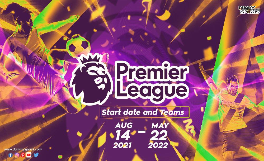 Lịch thi đấu bóng đá Ngoại hạng Anh 2021-2022