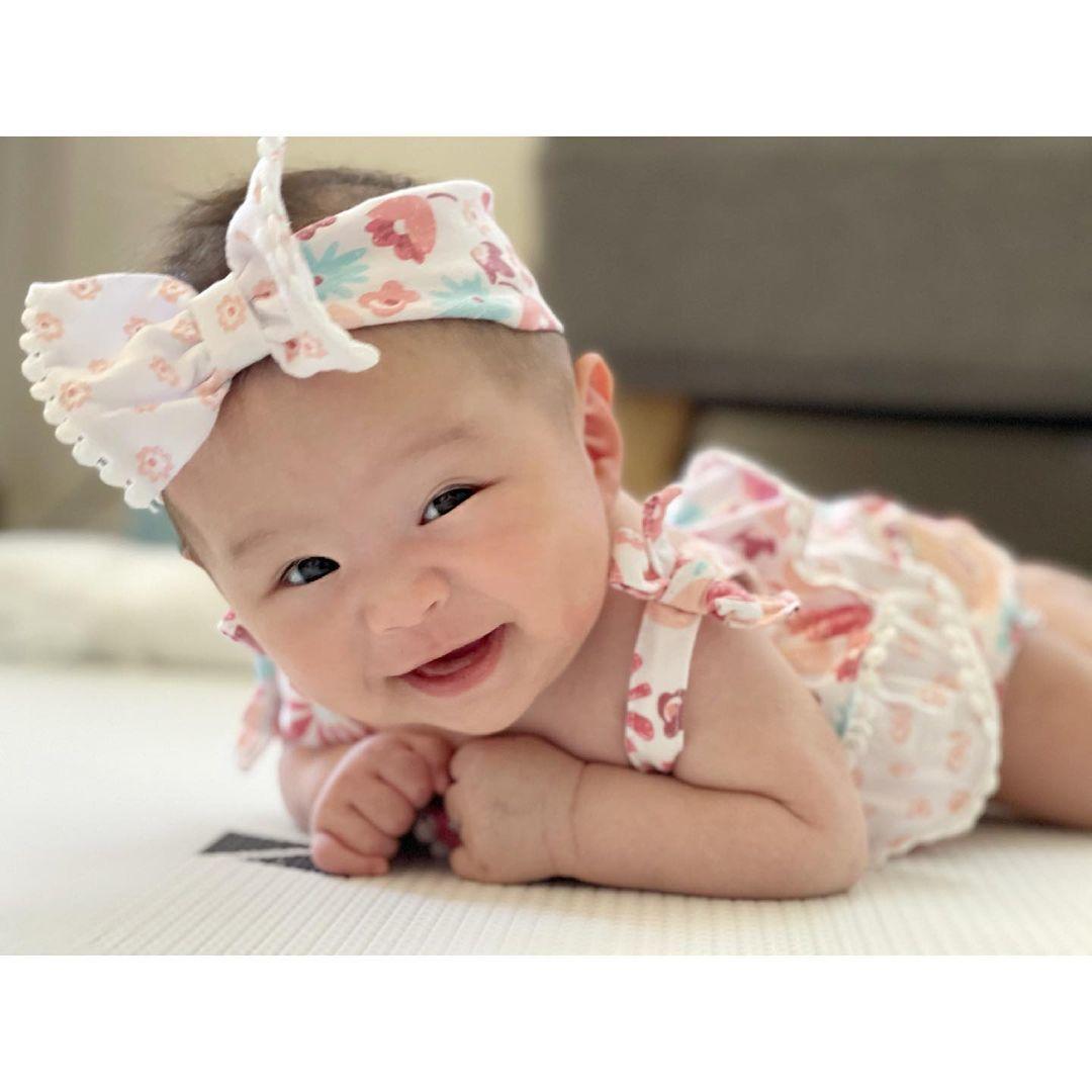 Con gái 5 tháng tuổi đáng yêu của An Nguy