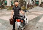 Honda Cub 82 biển VIP giá đắt đỏ gần 500 triệu đồng ở Hà Nội