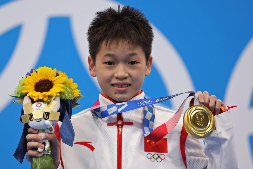 Nữ VĐV 14 tuổi của Trung Quốc giành HCV Olympic