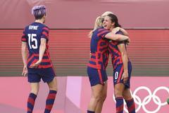 Lịch thi đấu bóng đá hôm nay 5/8: Tranh HCĐ bóng đá nữ Olympic