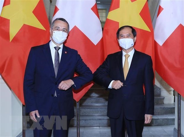 Swiss Vice President pays official visit to Vietnam