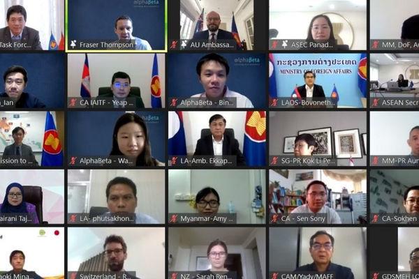 100 đại biểu tham dự Diễn đàn Các bên tham gia  triển khai Sáng kiến liên kết ASEAN giai đoạn 2021-2025