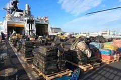 Tuần duyên Mỹ bắt giữ lô ma túy khổng lồ 1,4 tỷ USD
