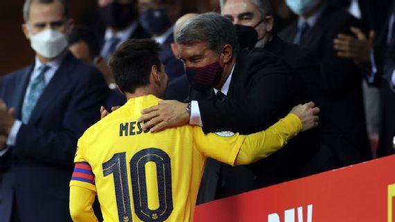 Messi giáng đòn mạnh vào kế hoạch chuyển nhượng của Liverpool