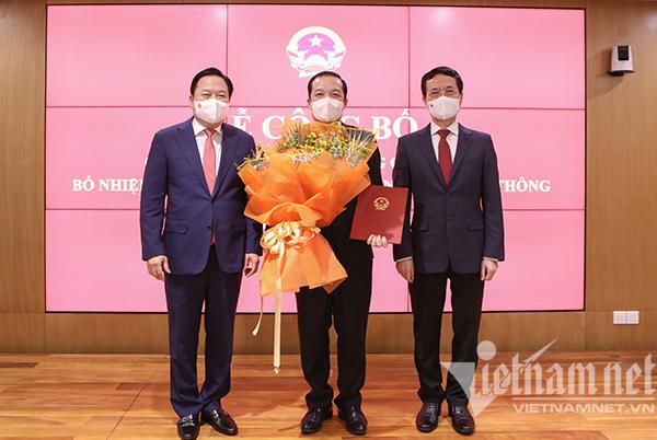 Ông Phạm Đức Long được bổ nhiệm làm Thứ trưởng Bộ TT&TT