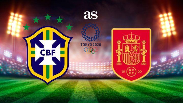 Link xem trực tiếp Brazil vs Tây Ban Nha, chung kết bóng đá nam