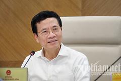 Bộ trưởng Nguyễn Mạnh Hùng phát biểu định hướng chiến lược MobiFone