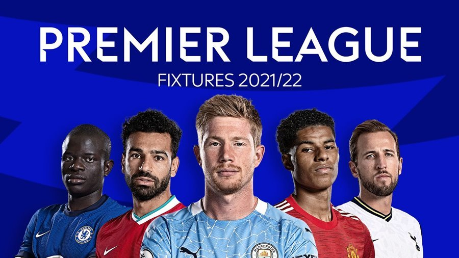Lịch thi đấu bóng đá Ngoại hạng Anh 2021-2022 mới nhất