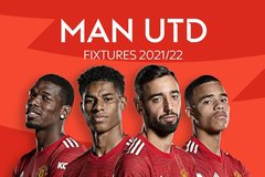 Lịch thi đấu của MU ở Ngoại hạng Anh 2021/22: Nguy cho Quỷ đỏ