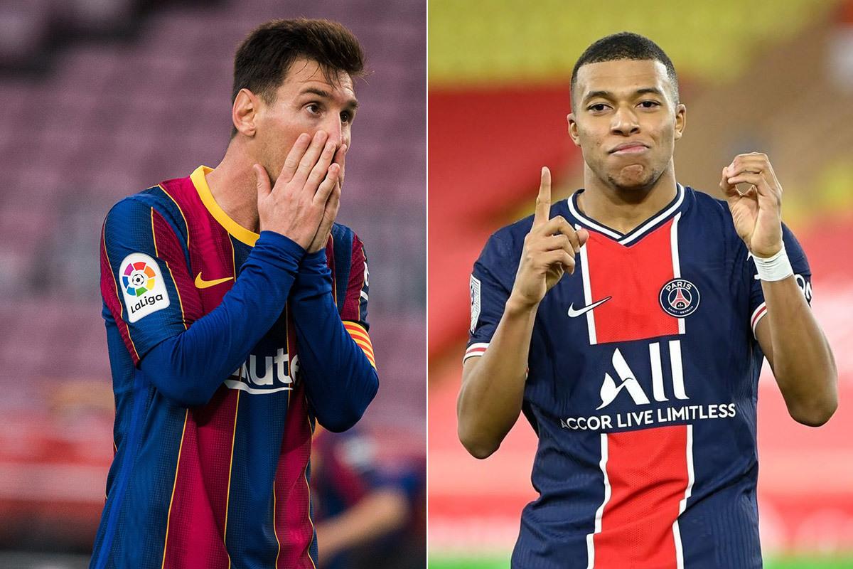 Messi là chìa khóa để Real Madrid ký Mbappe