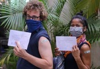 Expats excited to get vaccinated against COVID-19