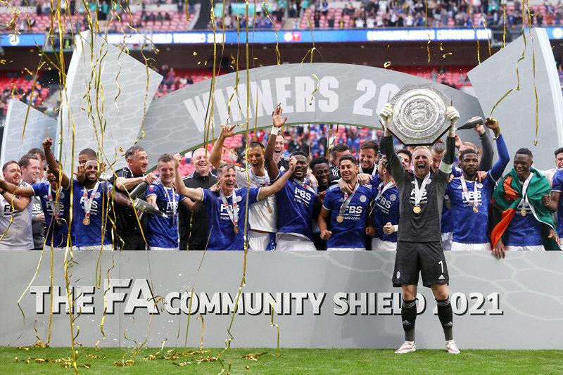 Đánh gục Man City, Leicester đoạt siêu cúp Anh