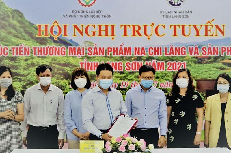 """""""Gian hàng Việt trực tuyến' tiếp sức hàng Việt tỉnh Lạng Sơn"""