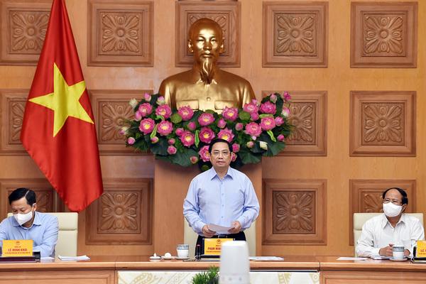 Thủ tướng chủ trì họp tháo gỡ khó khăn, thúc đẩy sản xuất kinh doanh cho doanh nghiệp