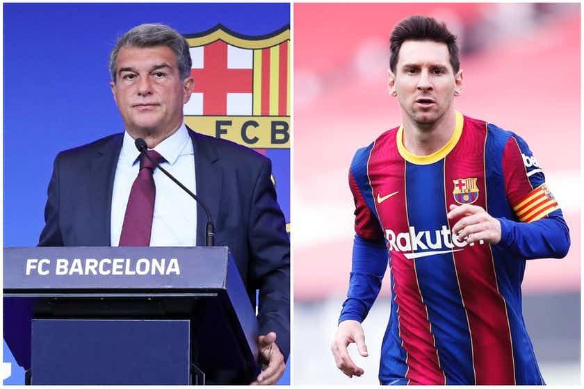 Chủ tịch Barcelona quyết định 'đá' Messi từ 1 tháng trước