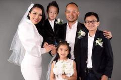 Hồng Ngọc hài lòng với cuộc hôn nhân thứ 2 với chồng và 3 con bên Mỹ