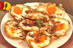 Cách làm trứng ốp la mới lạ kiểu Thái