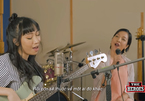 Anh Quân đánh đàn, Mỹ Linh hát cùng con gái Mỹ Anh ở The Heroes