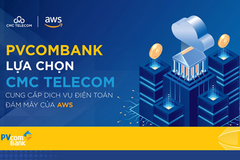 PVcomBank chọn CMC Telecom cung cấp dịch vụ Điện toán đám mây của AWS