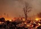 Nhiều thị trấn tại California, Mỹ chịu cảnh hoang tàn do cháy rừng