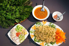 Sashimi-like salad offered in Thanh Hoa