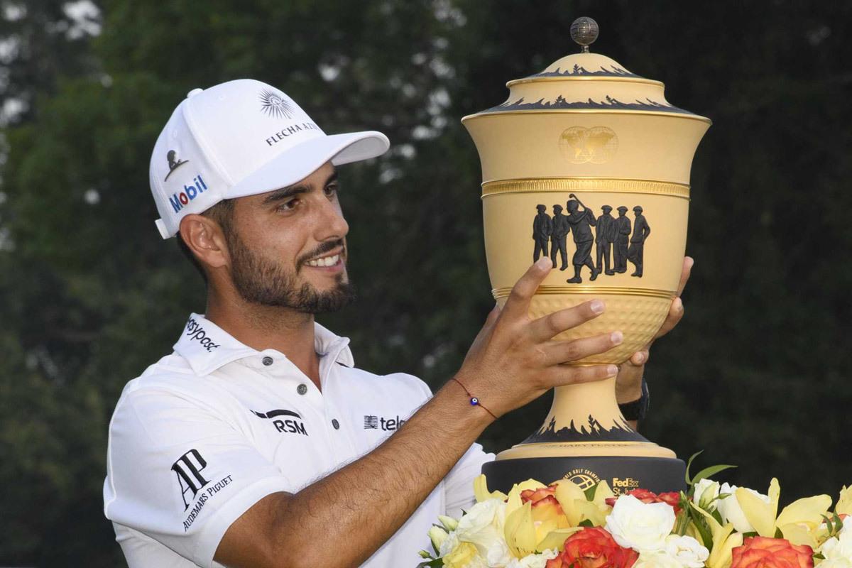 Abraham Ancer gây bất ngờ ở golf thế giới