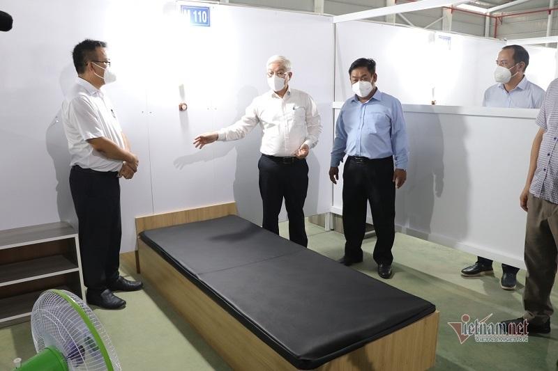 Bình Dương trưng dụng nhà xưởng làm bệnh viện dã chiến 3.000 giường