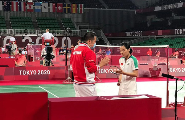 Vietnamese female shuttler promoted in BWF rankings after positive Olympic run