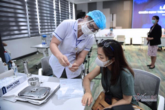 Lộ trình tiêm vắc xin cho mục tiêu kép